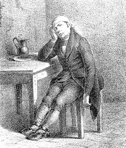 Litografía de H. Iriarte, siglo XIX.